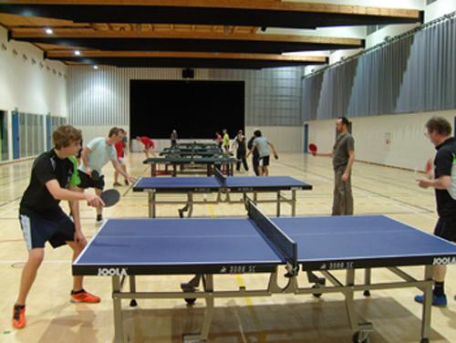 Training in der Hochfeldhalle