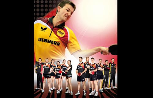 Deutsche Nationalmannschaften Frauen und Männer (Foto: DTTB)