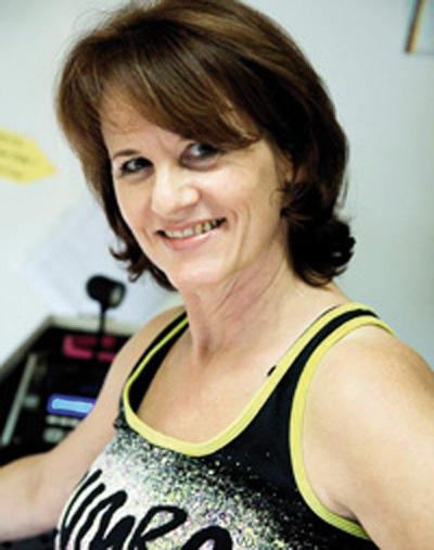 TV Huchenfeld Step Aerobic Gymwelt Übungsleiterin: Claudia Berger