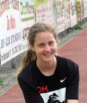 TV Huchenfeld Leichtathletik Waldlauf Übungsleiterin: Leonie Günthner
